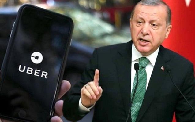 """Türkiyədə """"Uber"""" qadağan edildi"""