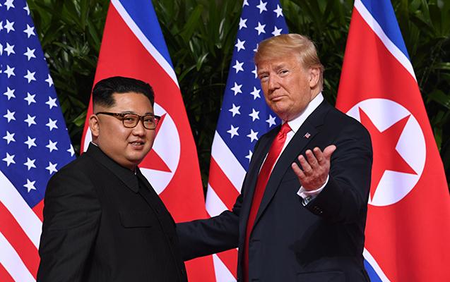 Tramp Şimali Koreyaya verdiyi sözün üstündə durmadı