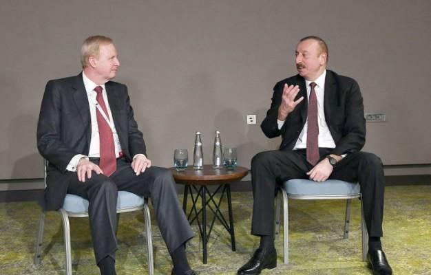 Prezident BP şirkətinin baş icraçı direktoru ilə görüşüb