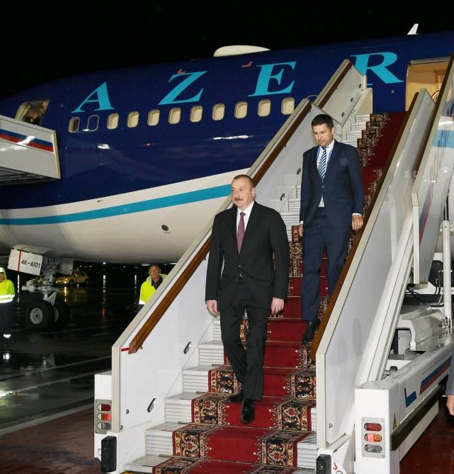 Prezident İlham Əliyev DÇ-2018-in açılışına yollandı