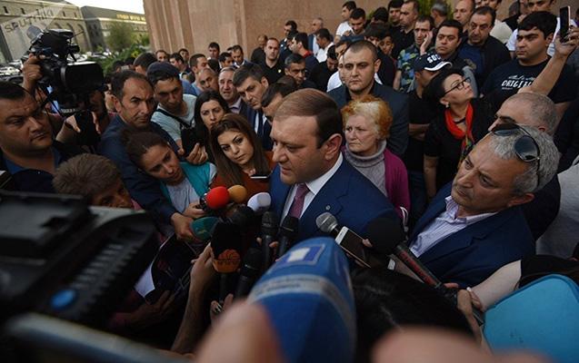 MTX Yerevan merinin başçılıq etdiyi fondda axtarış aparıb