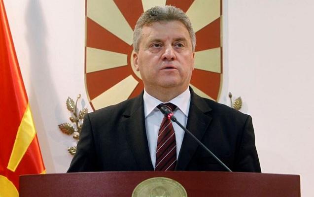 Makedoniya prezidenti ölkənin adının dəyişməsinə razı olmadı