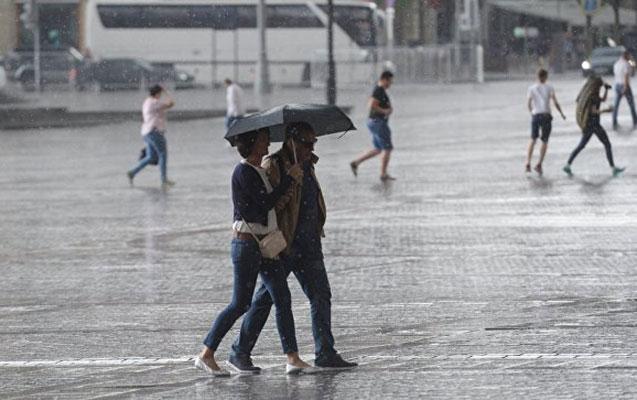 Şimşək çaxacaq, yağış yağacaq, dolu düşəcək