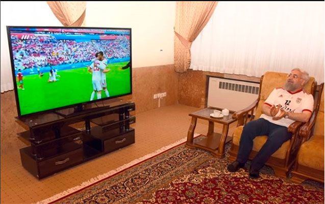 Prezident İranın oyununu evdən izlədi