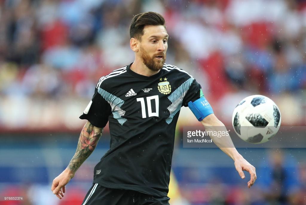 Messi məşqi yarımçıq tərk etdi