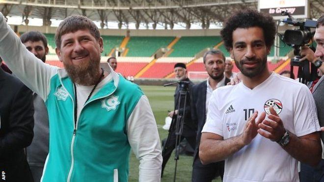 Ramzan Kadırov Putini təbrik etdi