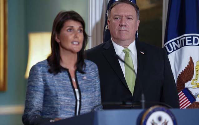 ABŞ BMT İnsan Haqları Şurasından çıxdı
