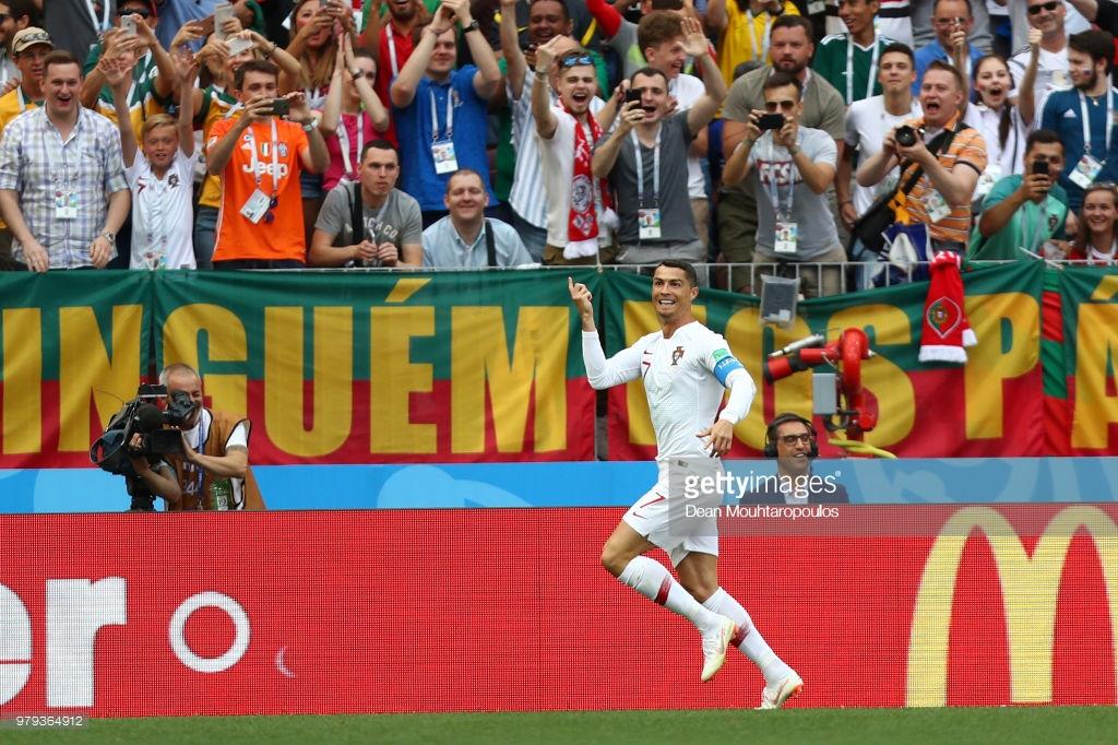 Ronaldo 4-cü qolla Portuqaliyanın xalını 4-ə yüksəltdi