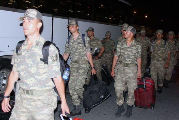 Türkiyə hərbi qulluqçuları Azərbaycanda