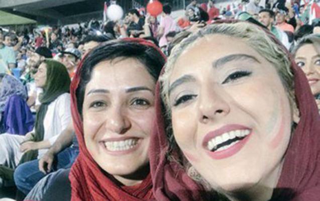 İranda qadınların stadiona girişinə ilk rəsmi izn verildi