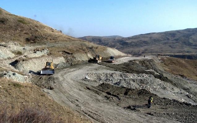 Yol tikintisinə 13,7 milyon manat ayrıldı