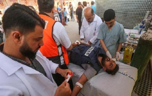 İsrail əsgərləri jurnalisti vurdu