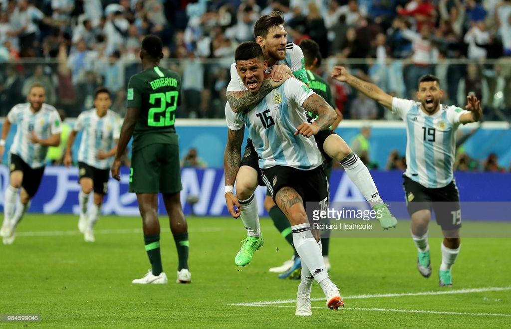 Messi və Rohonun qolları Argentinanı 1/8 finala daşıdı