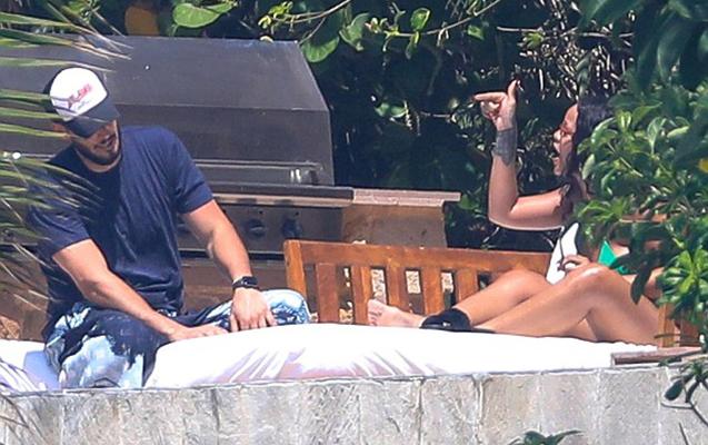 Rihanna milyarder sevgilisi ilə dava etdi