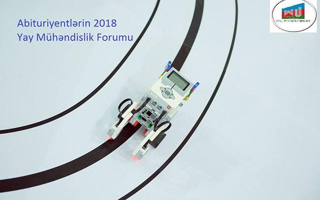 Abituriyentlərin 2018 Yay Mühəndislik Forumu keçiriləcək