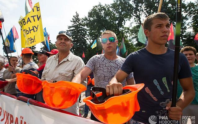 Kiyevdə 5 min insan etiraz aksiyası keçirir