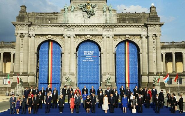 İlham Əliyev NATO-da ölkə başçıları üçün qəbulda