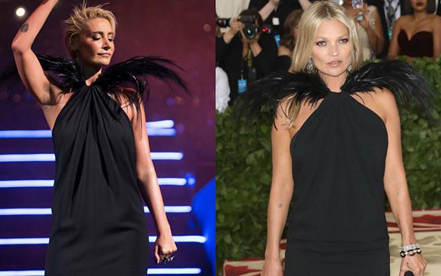 Sıla Kate Mossun paltarından geyindi