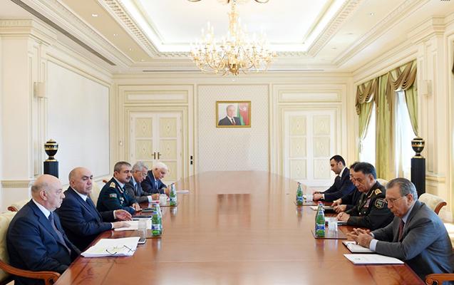 Prezident hüquq-mühafizə orqanları rəhbərlərini topladı
