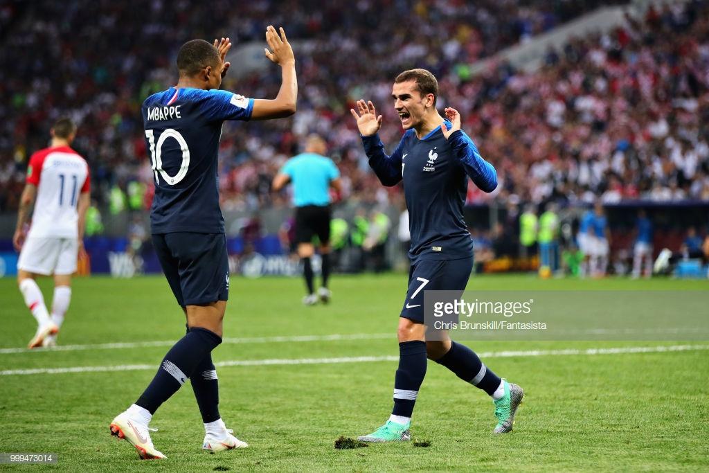 Fransanı dünya çempionu edən qollar
