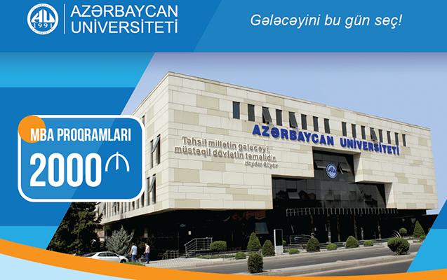 Azərbaycan Universiteti təhsil haqqını aşağı saldı