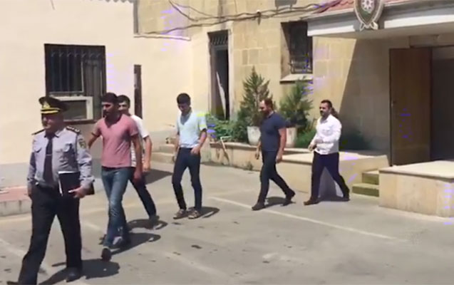 Tuneldə əylənən gənclər saxlanıldı-