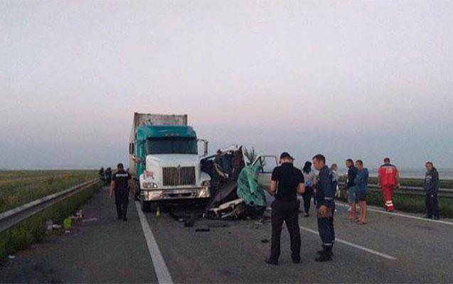 Ukraynada baş verən qəzada 5 nəfər öldü