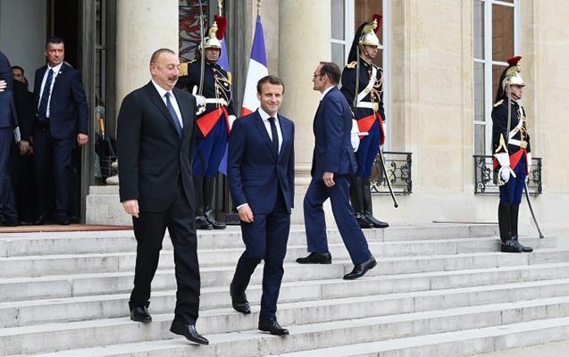 Prezidentin Fransa səfəri başa çatdı