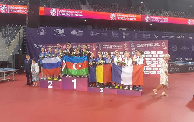Stolüstü tennisçilərimiz Avropa çempionu oldu