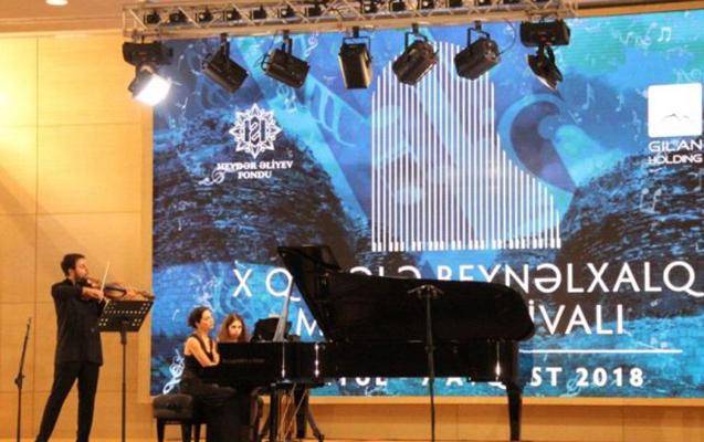 X Qəbələ Beynəlxalq Musiqi Festivalı başladı