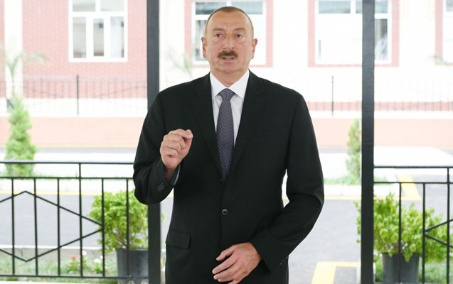 Prezident Lerikdə