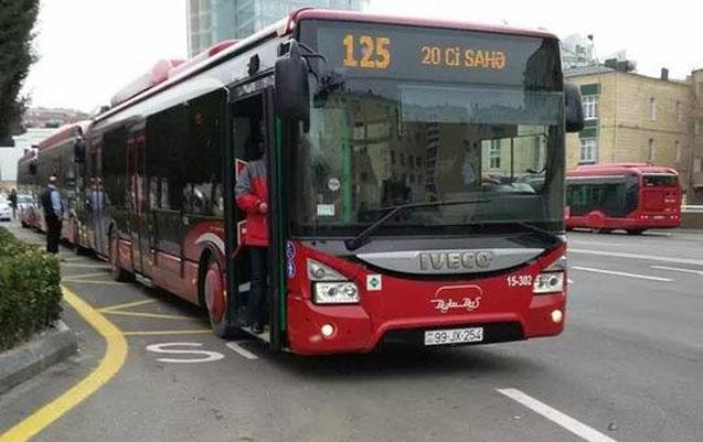 Bu avtobusların hərəkət istiqaməti dəyişdiriləcək