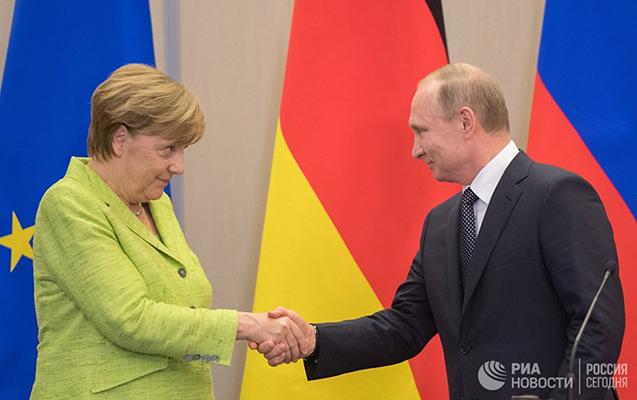 Merkellə Putin görüşəcək