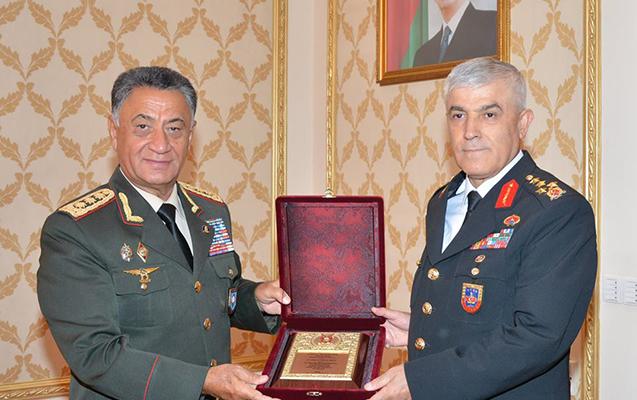 Türkiyənin ordu generalı Bakıya gəldi