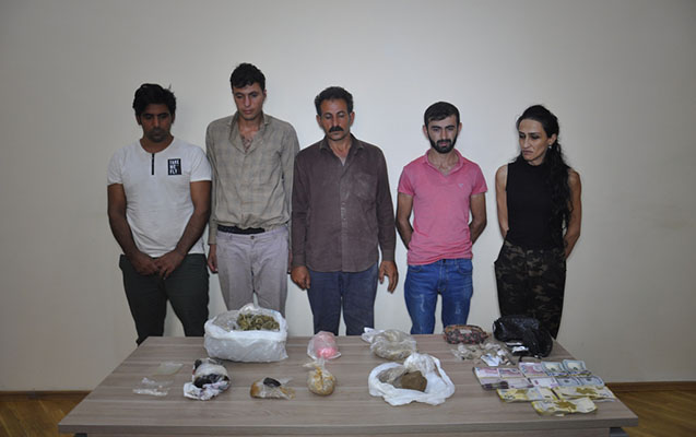 İrandan Azərbaycana narkotik gətirən mütəşəkkil dəstə ələ keçib