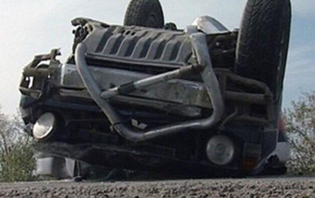 Goranboyda avtomobil aşdı, sürücü öldü
