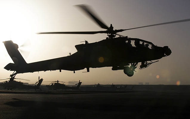 ABŞ hərbi vertolyotu İraqda qəzaya düşdü