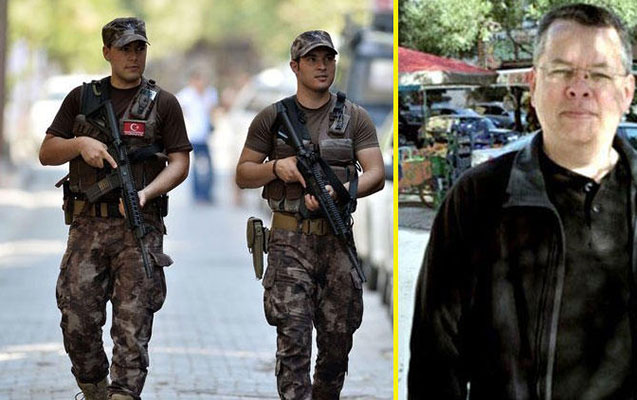 Türkiyə amerikalı keşişin mühafizəsini gücləndirdi