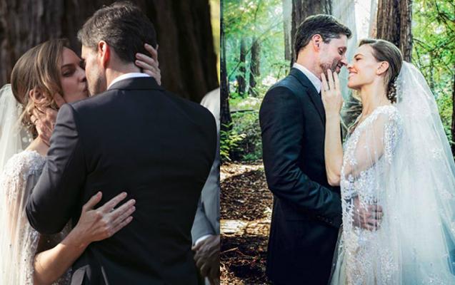 Hollivud ulduzu gizli evləndi - Fotolar