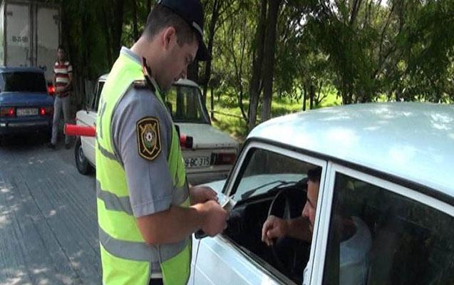 Göyçayda sərxoş, qayda pozan sürücülərə qarşı reyd - Foto