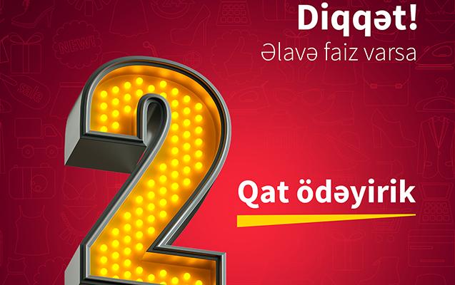 Əlavə faiz varsa, BirKart 2 qat geri ödəyir