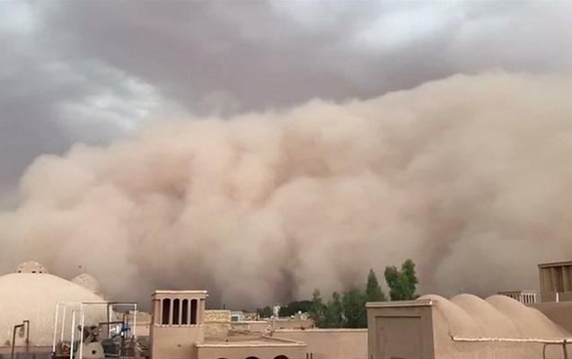 İrandakı toz fırtınası Azərbaycana təsir edəcək? - Rəsmi açıqlama