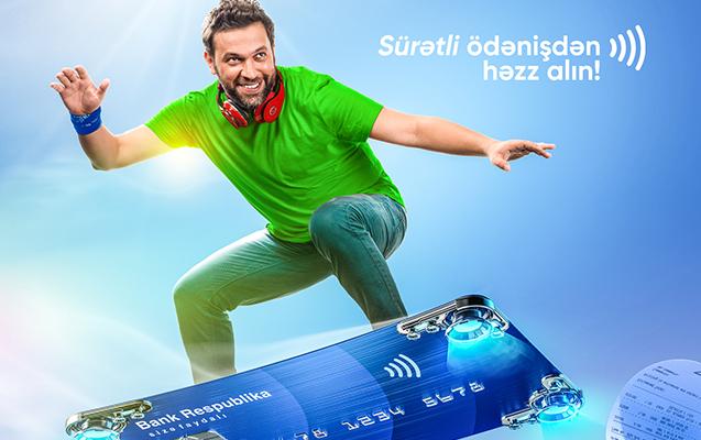 """""""Bank Respublika""""nın bütün kartları ilə təmassız ödəniş edə bilərsiniz"""
