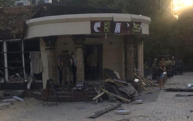 Donetskdəki partlayışda xəsarət alanların sayı açıqlandı