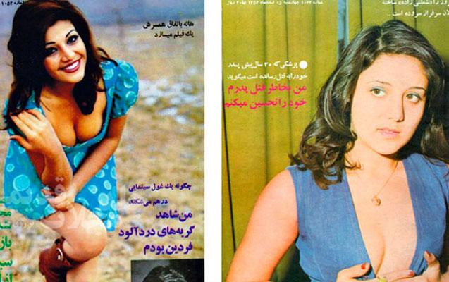 İranlı qadınlar 40 il əvvəl:hicabsız və dekolteli