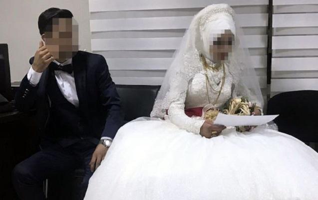 14 yaşlı qız evlənməkdən xilas edildi - Valideynlər və bəy həbs olundu