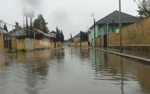 Bakıda bəzi ərazilərdə qrunt sularının səviyyəsi qalxıb