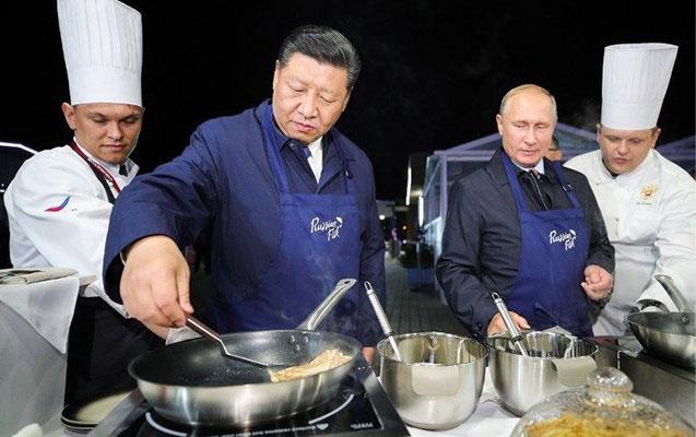 Putinlə Tsinpin fəsəli hazırladılar
