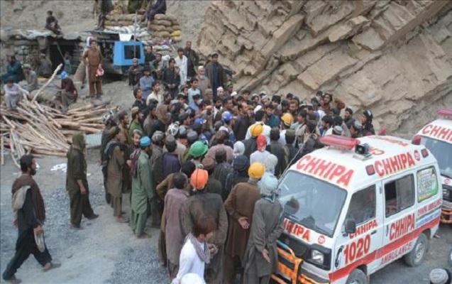 Pakistanda daha bir mədən qəzası