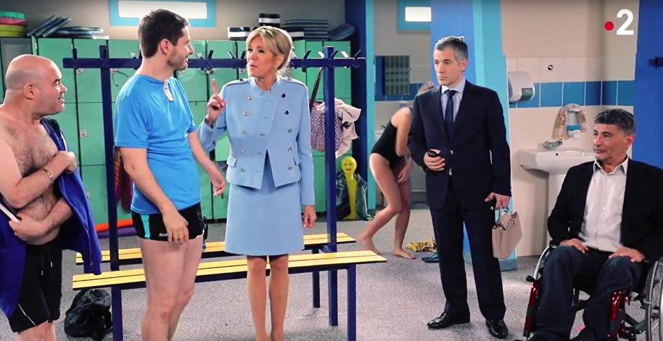 Fransanın birinci ledisi seriala çəkilib - Video